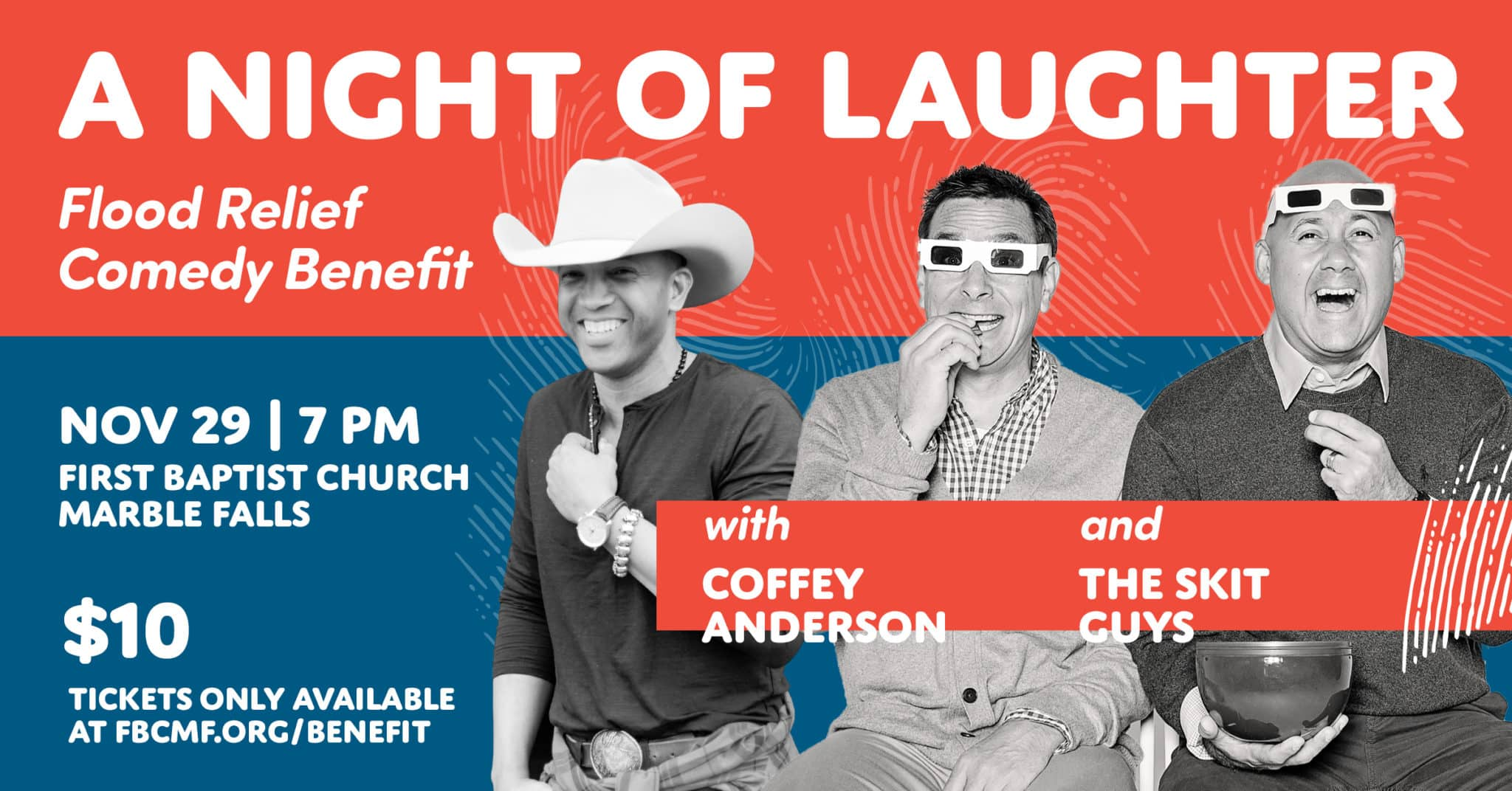 A Night of Laughter - First Baptist Church Marble Falls